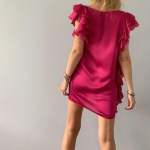 CHLOÉ cerise mini dress